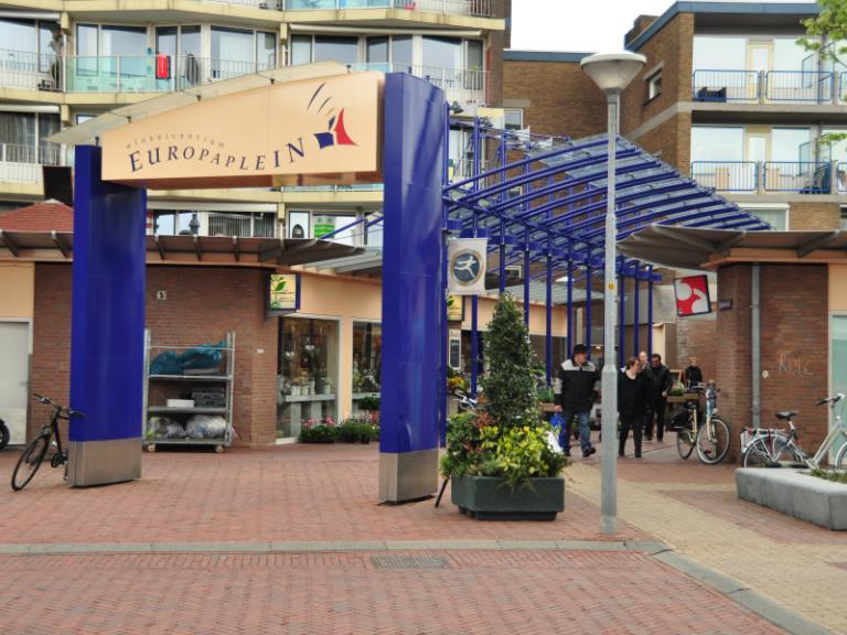 Ingang Europaplein