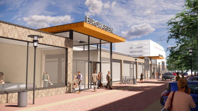 Renovatie Europaplein